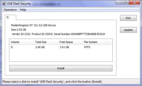 USB Flash Security: Protege con contraseña a tu pendrive